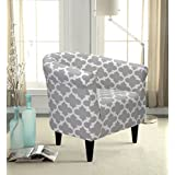 Mainstays Gray Bucket Accent Chair Designed with Comfort and Style