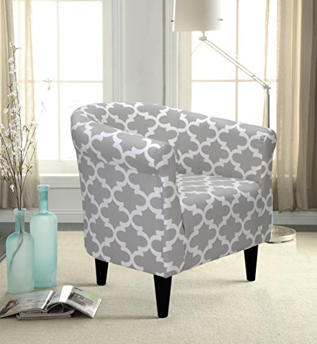 Mainstays Gray Bucket Accent Chair Designed with Comfort and - Bucket Gray