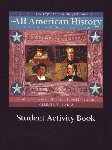 - All American History: Student Activity Book, Vol. 1