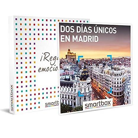 Smartbox Dos días únicos en Madrid Caja Regalo, Adultos Unisex, estándar