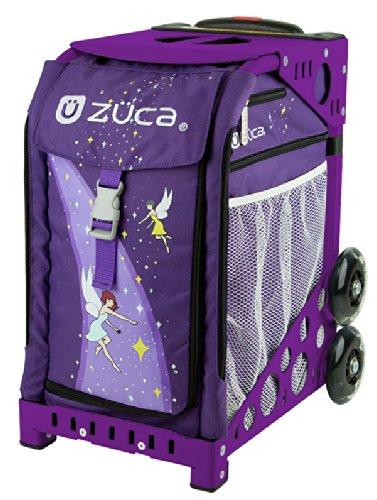 ZUCA Bag Fairytale Insert & Purple Frame w/ Flashing Wheels