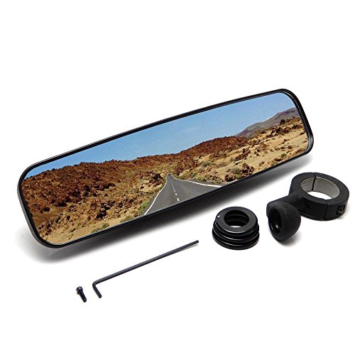 UTV Rear View Mirrors 1.75 inch Clamp for RZR Rang big image