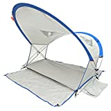 Shadezilla Deluxe Full View Beach Cabana Sun Shelter UPF 100+