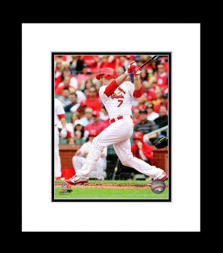(St. Louis Cardinals Matt Holliday Batting Framed 8x10 Picture)