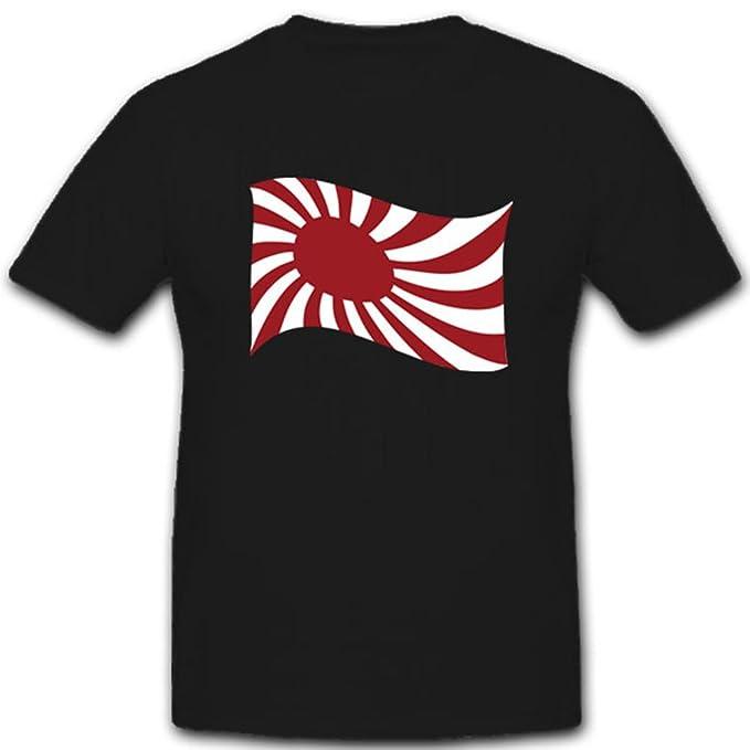Guerra Japonesa Bandera Bandera de Japón - Camiseta # 4110: Amazon.es: Ropa y accesorios