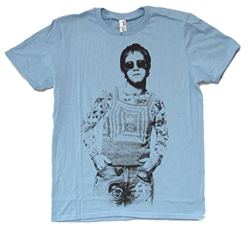 Elton John Noddy Image Mens Dark Blue T Shirt (2X)