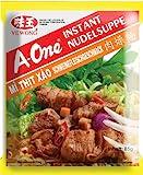 A-ONE Instantnudeln, Schwein, 10er Pack (10 x 85 g Packung)
