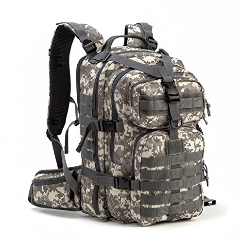 Gelindo Military Tactical Backpack, Hydration Backpack, Army Molle Bug-out...