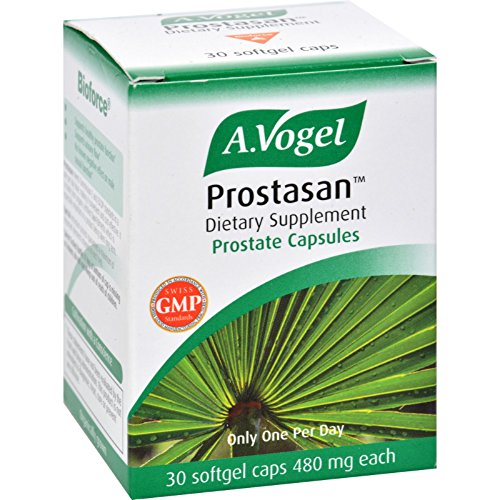 A Vogel Prostasan - 480 mg - Herbal Extract - 30 Softgels (Pack of 2) by A. Vogel