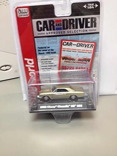 (Auto world car and driver 1966 chevy chevelle SS 396)