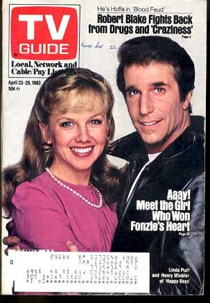Tv guide 4231983 fonzhappy days cover g at amazons entertainment tv guide 4231983 fonzhappy days cover g m4hsunfo