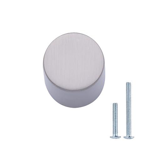 AmazonBasics - Pomo de armario, con forma de silbato, 1,9 cm de ...