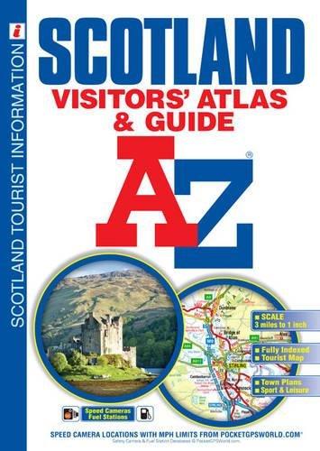 Scotland: Visitor's Atlas & Guide (A-Z Premier Street Maps)