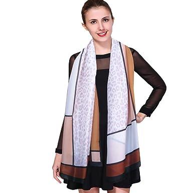 a9cfa8c85bfd iEverest Luxury Silk Scarf Mulberry Silk Scarves for Women Beach Silk  Sunscreen Shawl Wrap ladies Satin