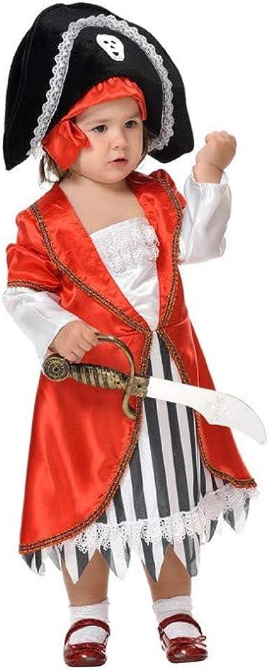 Disfraces FCR - Disfraz pirata niña talla 2 años: Amazon.es: Ropa ...