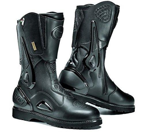 - Sidi Boots Road Armada Gore-Tex Black Size EUR 41 USA 7.5