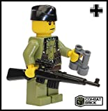 world war 2 army uniform - Premium Limited Edition Toy Soldier Minifigure - Custom WWII German Sniper by CombatBrick