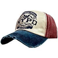 iSweven Hip Hop NYPD 100% Cotton Cap for Men & Women (Unisex) Fashion Adjustable Strip Snapback Sportswear Hat