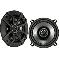 Kicker CSC5 5.25 225W 2 Way 4 Ohm Coaxial Car Audio Speakers, Pair | 43CSC54