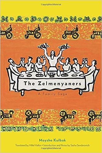 Image result for Moyshe Kulbak, The Zelmenyaners:
