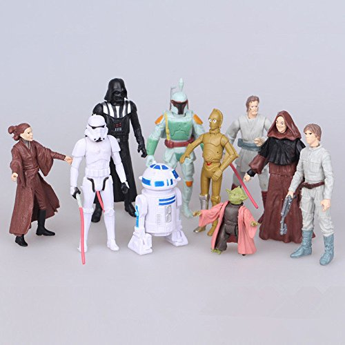 10pcs Cute Action Figures Doll Set To Collection Kids Toy Gift
