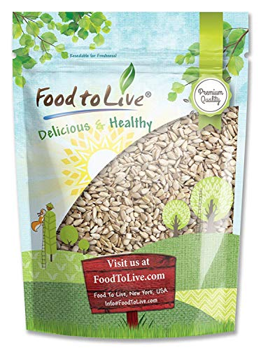Sunflower Seeds by Food to Live (Raw, Kernels, Shelled, Kosher, Bulk) - 2 Pounds ()