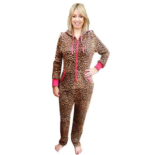 Alice - Pijama de una pieza - para mujer leopardo