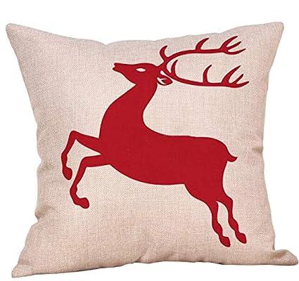Amazon.com: Wall of Dragon Christmas Tree Cushion Covers ...
