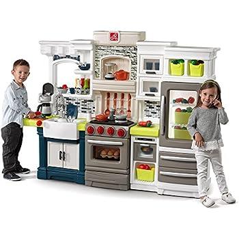 Amazon Com Lifestyle Deluxe Kids Pretend Kitchen Toys Games