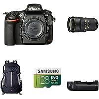 Nikon D810 FX-Format DSLR Camera with 24-70mm Lens Deluxe Battery Grip Bundle