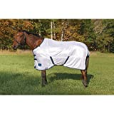 Shires Tempest Fly Sheet with Standard Neck - White - 75