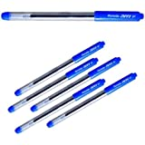 Reynolds Jiffy Blue Gel Pen, Pack of 5