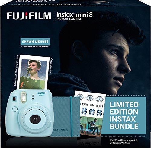 Fujifilm Instax Shawn Mendes Mini 8 Blue Bundle Buy