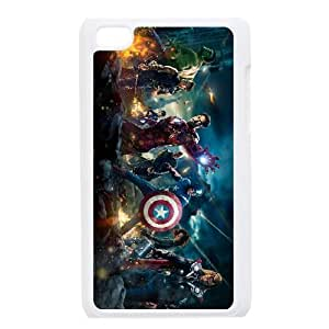 iPod Touch 4 phone cases White Avengers Phone cover DSW1916807