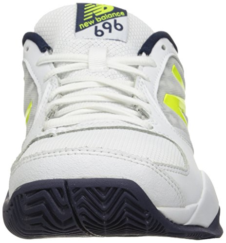 New Balance men's 696v2 lightweight tennis shoe riptidefirefly