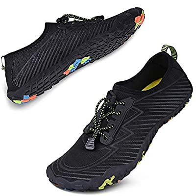 Water Shoes for Women Men Barefoot Quick-Dry Shoes Aqua Shoes Swim Shoes Mens Womens Water Sports Shoes River Shoes | Water Shoes