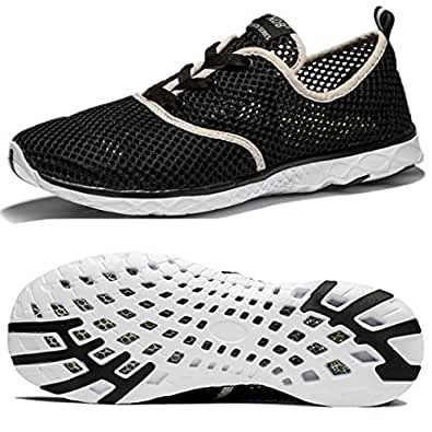 Men's Women's Mesh Quick Drying Aqua Water Lace-up Walking Shoes