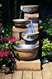 Kendal Three Tier Cascade Water Feature with Lights