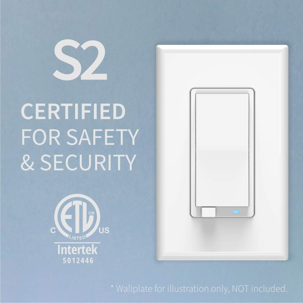 Zooz Z-Wave Plus S2 Wall Dimmer Switch ZEN27 VER. 2.0 with NEW Simple Direct 3-Way and 4-Way (Works with Existing On Off Switches, No Add-Ons) and No-Flicker Dimming (for all LED's up to 100W)