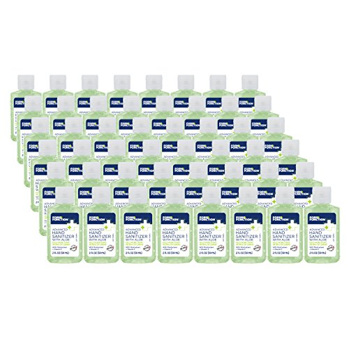Form + Function Advanced Hand Sanitizer with Vitamin E and Aloe, 2 oz.