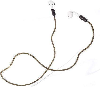 Knok Airpods Strap Halteband Halter Kompatibel Mit Apple Airpods 1 Airpods 2 Airpods Pro Airpods Band Airpods Halterung Magnetisch Band In Olive Bürobedarf Schreibwaren