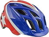 Kali Protectives Chakra Child Helmet - Kids' Super Hero Blue/Red, Small