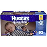 Huggies Overnites Diapers, Size 3, 92 Count
