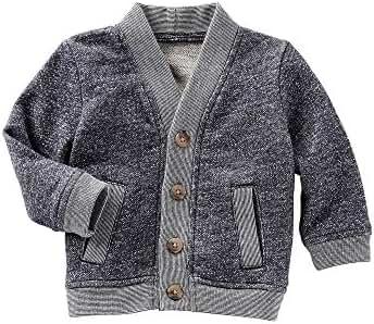 OshKosh B'Gosh Baby Boys' Marle Cardigan Sweater
