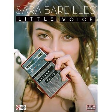 Sara Bareilles: Little Voice (Easy Piano)