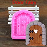 Neaer 3d Elf Fairy House Door Silicone Fondant Cake Mold Chocolate Mould Baking Tool