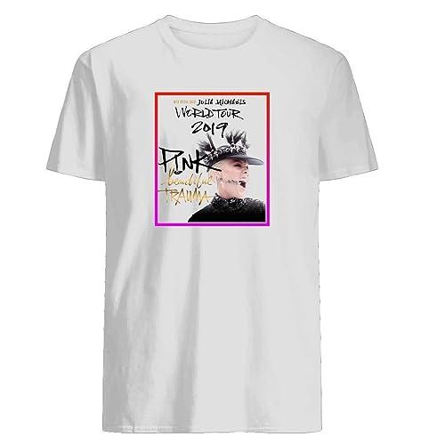 Kids Singer P!nk Beautiful Trauma World Tour 2019 100/% Cotton T Shirts Tee