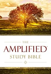 Grasp the full meaning behind the original Greek and Hebrew texts with the first-of-its-kind Amplified® Study Bible               The Amplified® translation was created to deliver enhanced understanding of the rich nuances and...