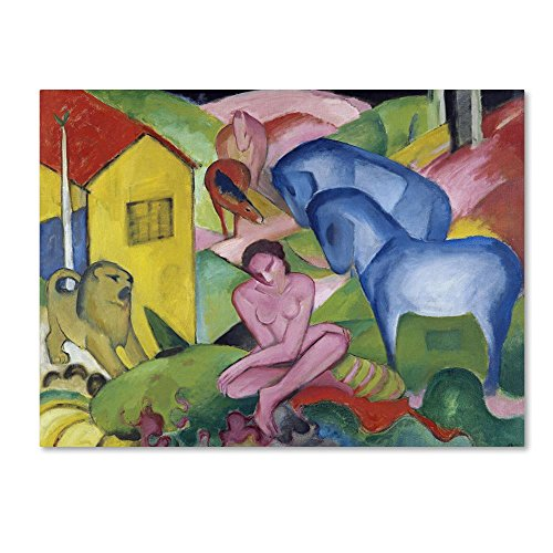 Trademark Fine Art The Dream by Franz Marc,  Canvas Wall Art