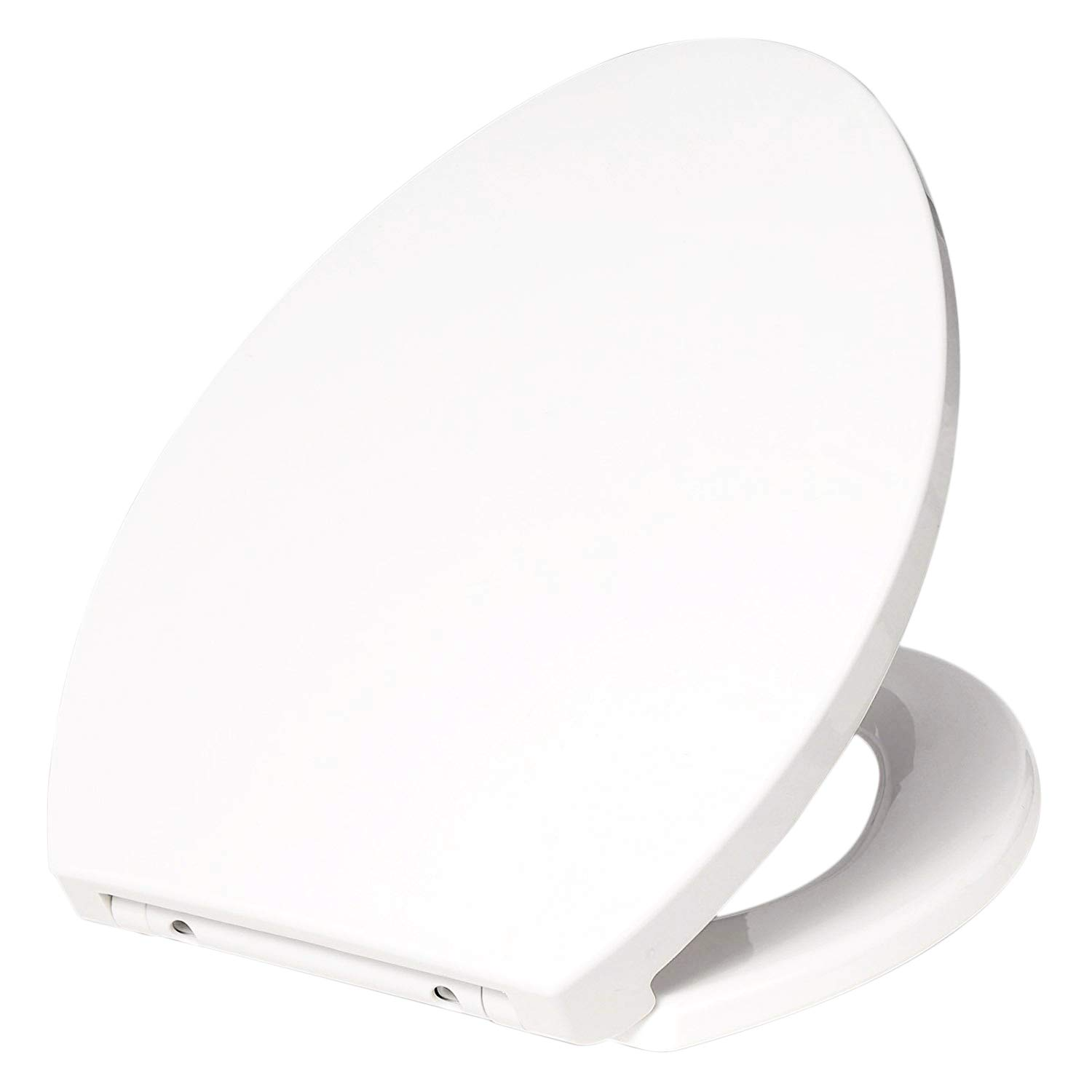 WOLTU White Toilet Seat Quick Release Soft Close Hinge Top Fixed Toilet Cover Bathroom